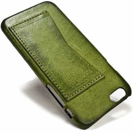 iPhone 7 Leather Back Case, One Card Slot, by Nicola Meyer
