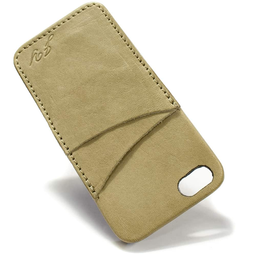 iPhone SE Leather Case, Corda, by Nicola Meyer