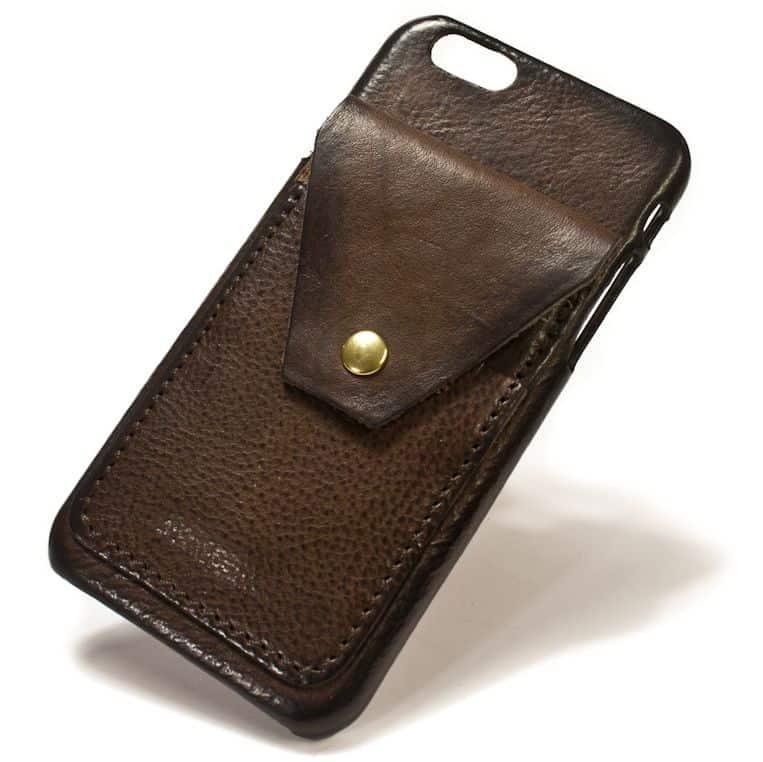 cc Leather Back Case Iphone 7 Card Flap Nicola Meyer