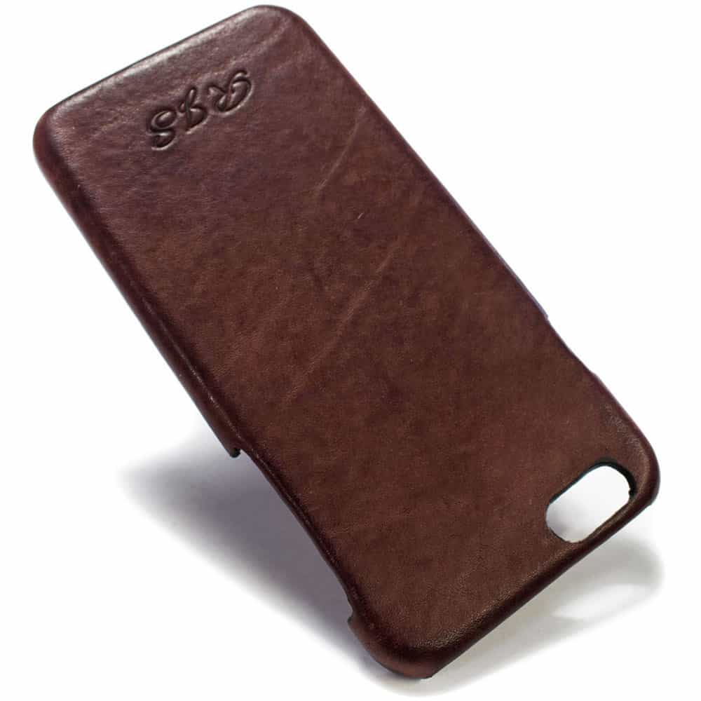 Feat Iphone 6 Leather Back Case Prugna Engraved Nicola Meyer