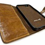 Iphone 7 Etui à rabat en cuir fait main Nicola Meyer 01