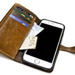 Iphone 7 Etui à rabat en cuir fait main Nicola Meyer 02