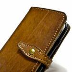 Iphone 7 Etui à rabat en cuir fait main Nicola Meyer 03