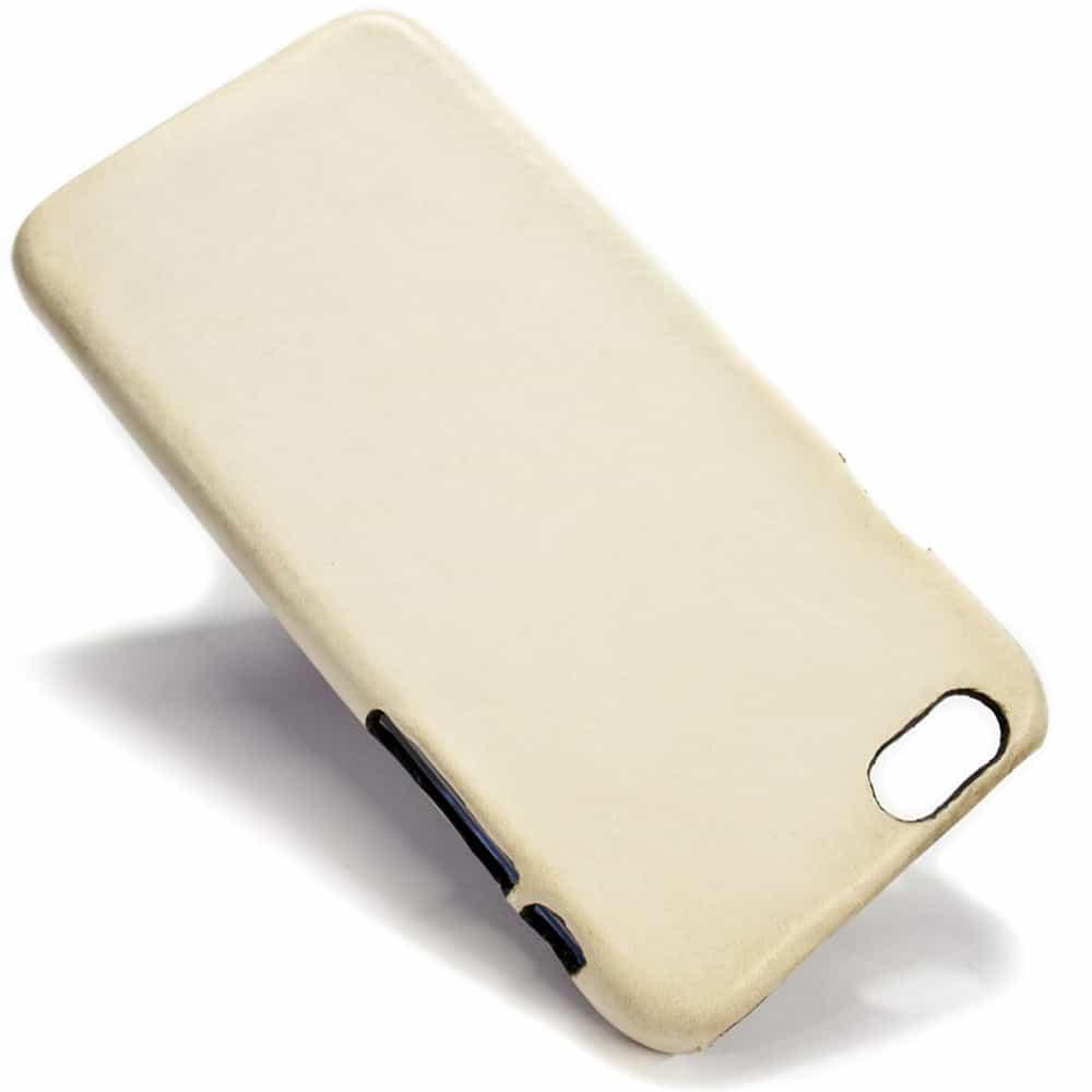 Cc Iphone 6 Plus Leather Back Case Dusty White Nicola Meyer