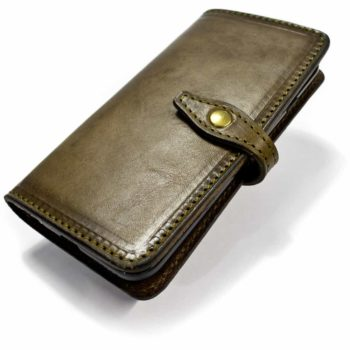 iPhone 7 Leather Cover Bifold, Tundra, de Nicola Meyer