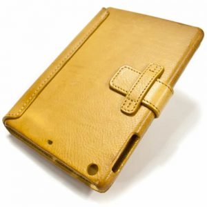 iPad mini 4 Leather Cover, Natural, by Nicola Meyer