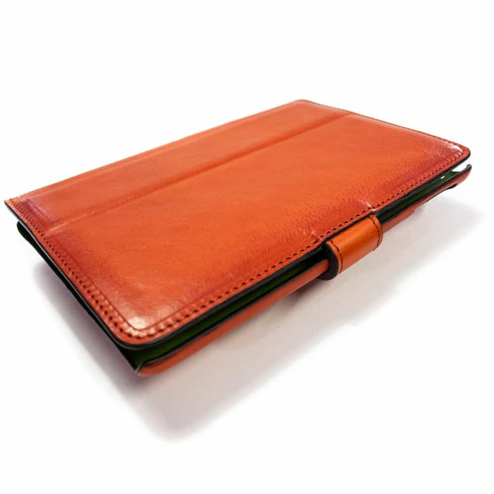 iPad mini 4 Leather Cover, Red, by Nicola Meyer