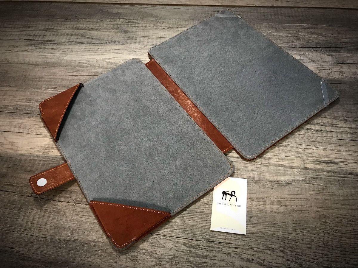 Macbook 13 Leather Portfolio Case Nicola Meyer