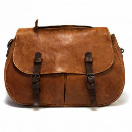 Leather Bag, Brown, Handmade by Nicola Meyer