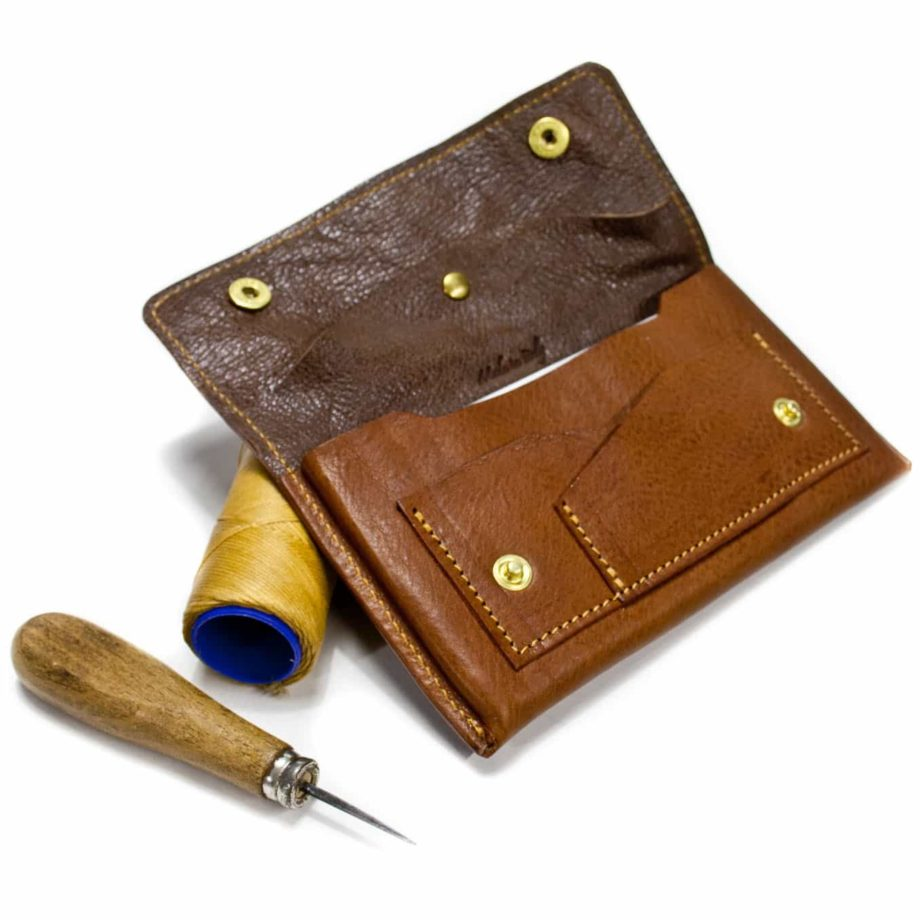 iPhone 7, 6 Plus Leather Wallet Belt, Open