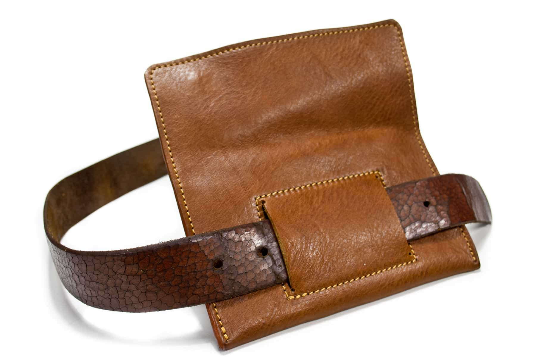 iPhone 7, 6 Plus Leather Wallet Belt, by Nicola Meyer