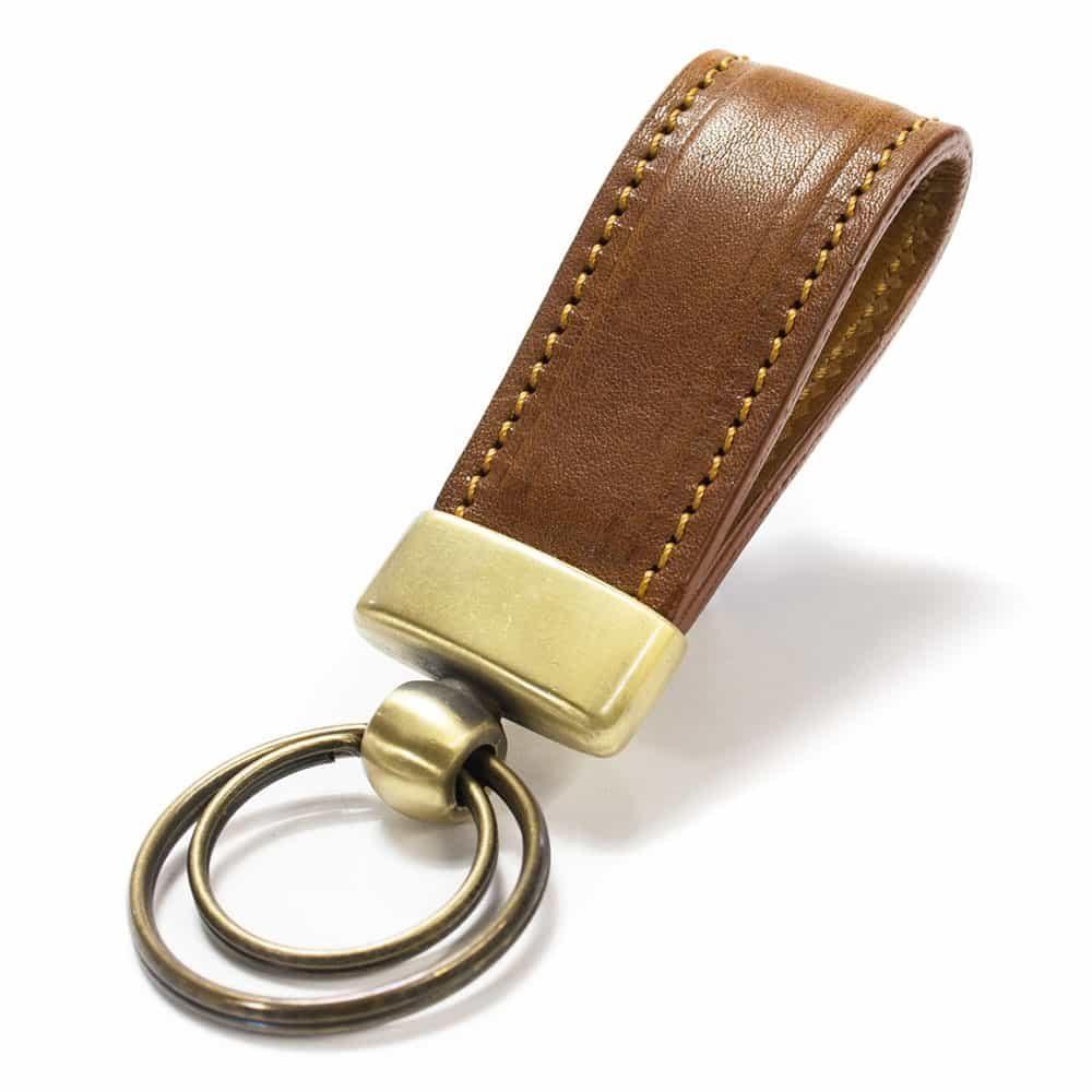Crw 8190 Str3 Ov 303 Leather Ring Key Nicola Meyer