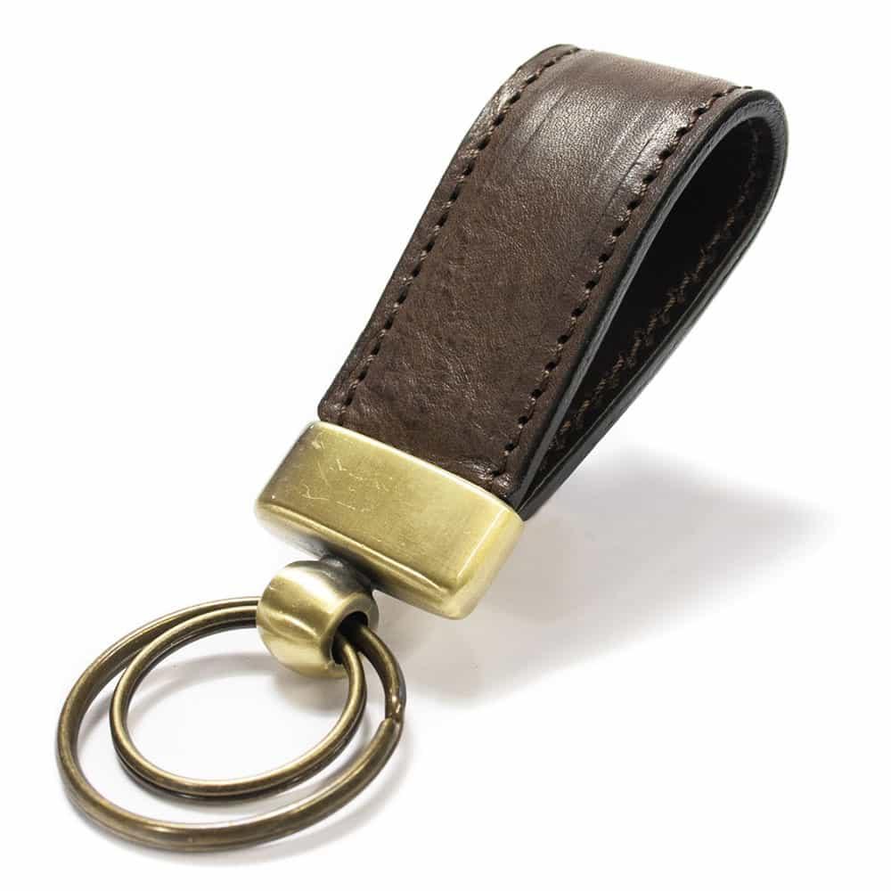Castagno Leather Ring Key, by Nicola Meyer