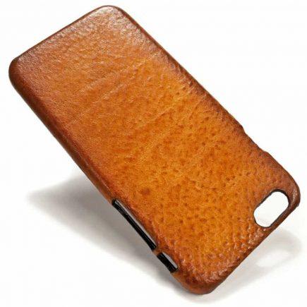 iPhone 6 Leather Case Washed, Brandy, by Nicola Meyer
