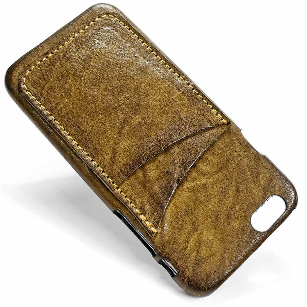 Feat Ip6 12 V 5740 Iphone Leather Back Case 2 Vertical Slots Nicola Meyer