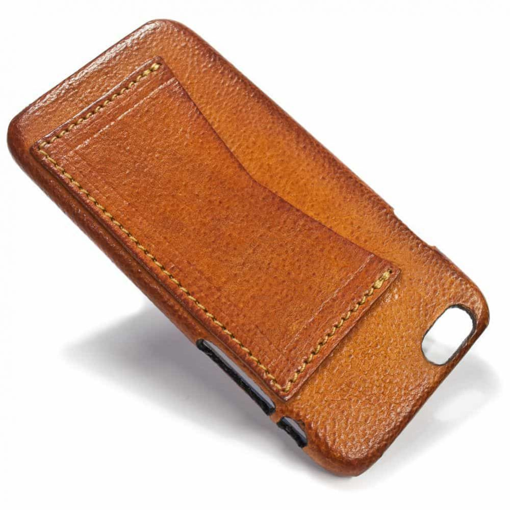iPhone 6 Leather Back Case, Brandy, by Nicola Meyer