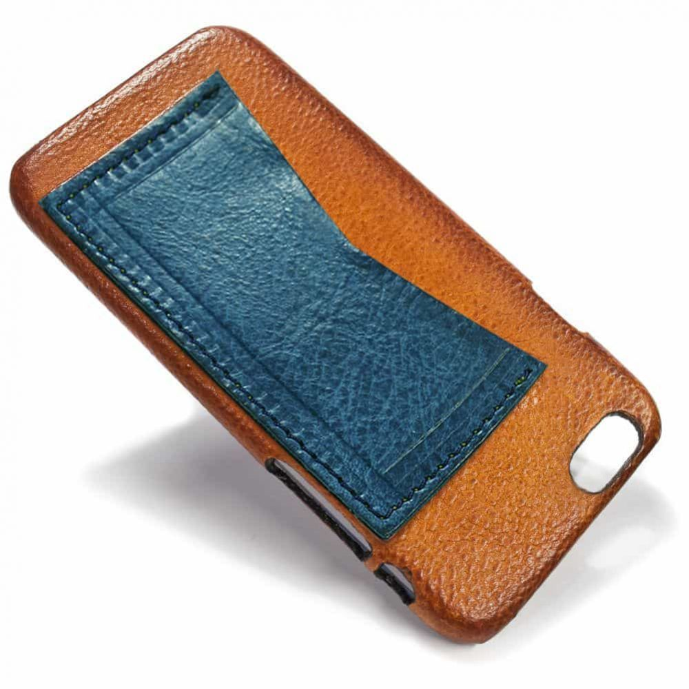 iPhone 6 Leather Back Case, Brandy and Ortensia, by Nicola Meyer