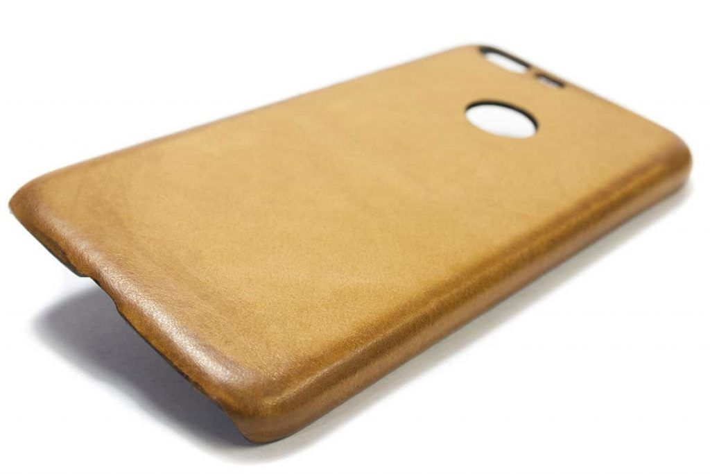 Google Pixel XL, Leather Back Case, Natural, by Nicola Meyer