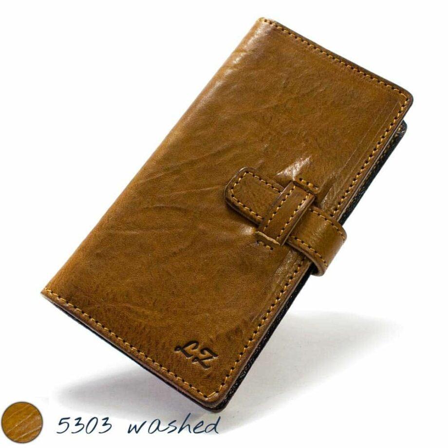 iPhone 7 Plus Leather Flip Book Wallet Case, Handmade by Nicola Meyer