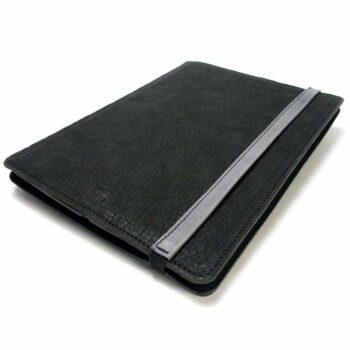 Étui portefeuille en cuir pour iPad Pro 12,9, anthracite. Light Grey, Fermer