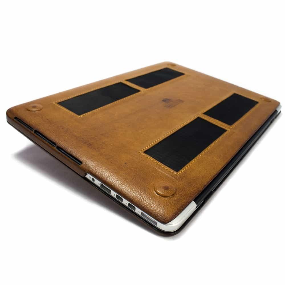 MacBook, Leather Case, Handmade by Nicola Meyer