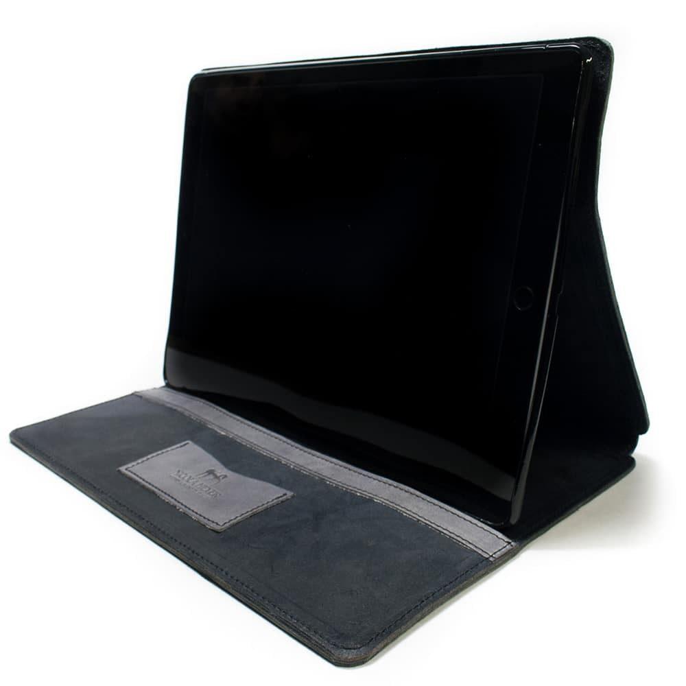 iPad Pro 12,9 Portfolio Charcoal + Light Grey