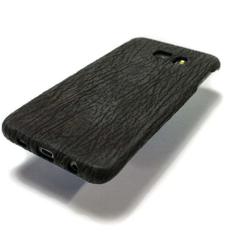 Samsung Galaxy Black Couverture en cuir, par Nicola Meyer