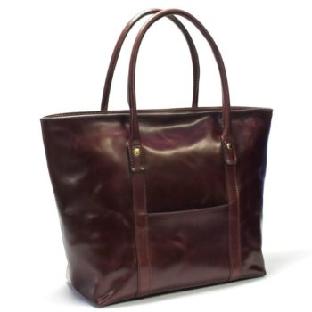 Sq Wb 52 Shell Cordovan Tote Bag Nicola Meyer Made In Italy 1