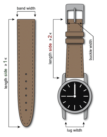 Watch Straps Lenght Specs 3